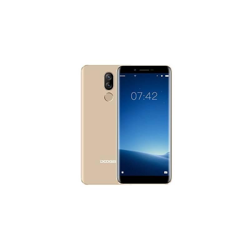 Mobilný telefón Doogee X60L Dual SIM (6924351653002) zlatý + Doprava zadarmo