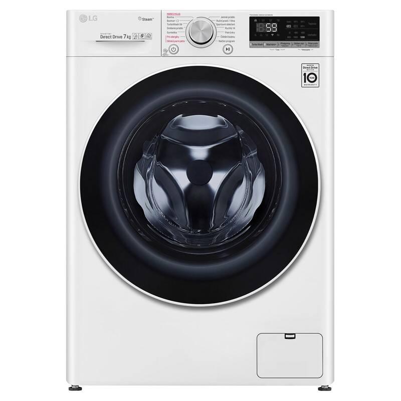 Práčka LG F2WN7S7S0 biela + Extra zľava 10 % | kód 10HOR2020 + Doprava zadarmo