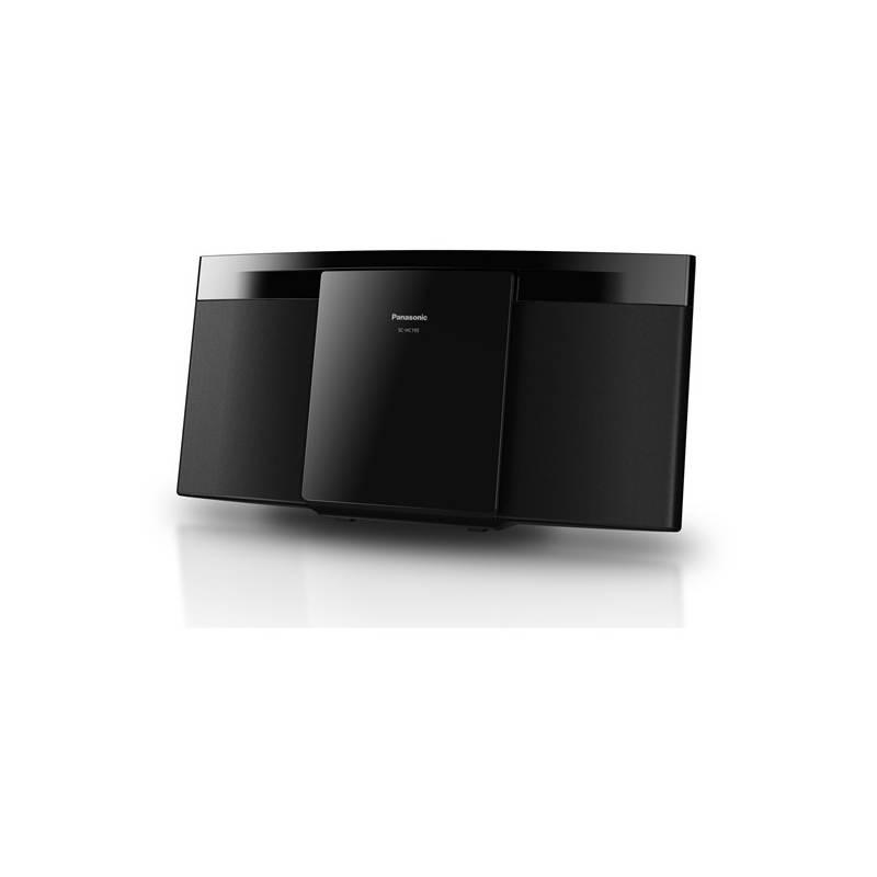 Mikro HiFi systém Panasonic SC-HC195EG-K čierny