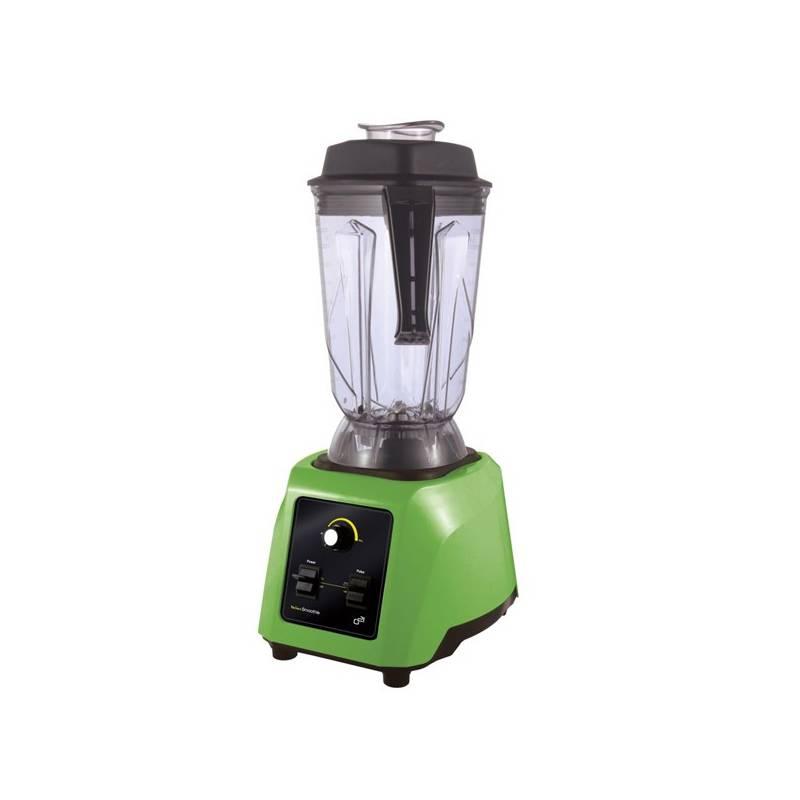 Stolný mixér G21 Blender Perfect smoothie green zelený Nádobka G21 Perfect Smoothie 1,3 L (zdarma)+ Kniha Secret of Raw Tajemství syrové stravy v hodnote 16.90 € + Doprava zadarmo
