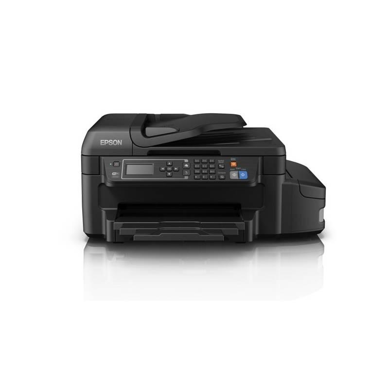 Tlačiareň multifunkčná Epson L655 (C11CE71401) čierna + Doprava zadarmo