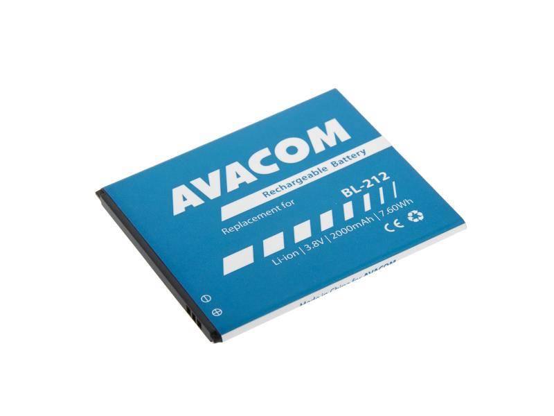 Batéria Avacom pro Lenovo S580 Li-Ion 3,8V 2000mAh (náhrada BL212) (GSLE-BL212-2000)