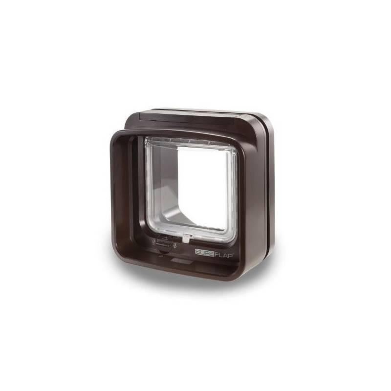 Dvierka SureFlap DualScan s mikročipom - hnedé