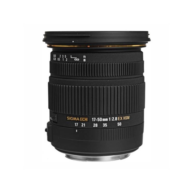 Objektiv Sigma 17-50 mm/2.8 EX DC OS HSM Canon černý