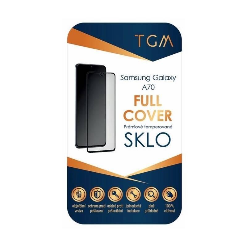 Ochranné sklo TGM Full Cover pro Samsung Galaxy A70 (TGMSAGAA70) čierne