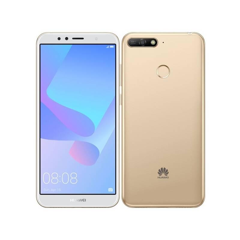 Mobilný telefón Huawei Y6 Prime 2018 Dual SIM (SP-Y6P18DSGOM) zlatý Software F-Secure SAFE, 3 zařízení / 6 měsíců (zdarma)Kryt na mobil Huawei Y6 Prime (2018) - průhledný (zdarma)Power Bank Forever 10000 mAh 2xUSB - šedá/bílá (zdarma)