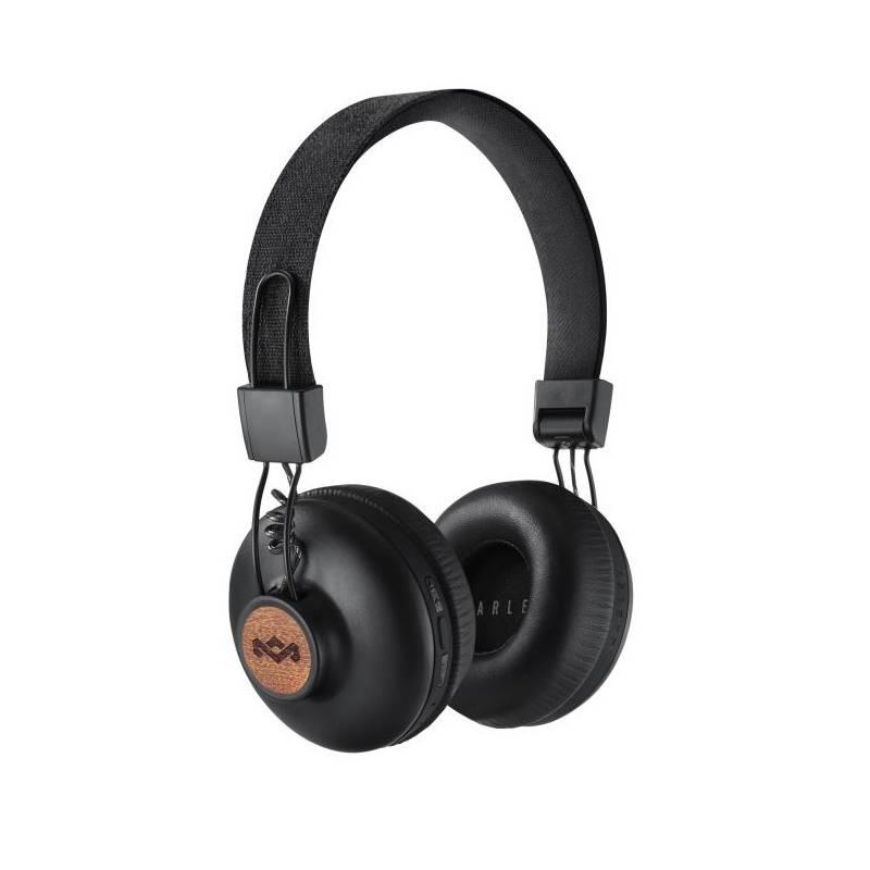 Slúchadlá Marley Positive Vibration 2.0 Bluetooth (EM-JH133-SB) čierna