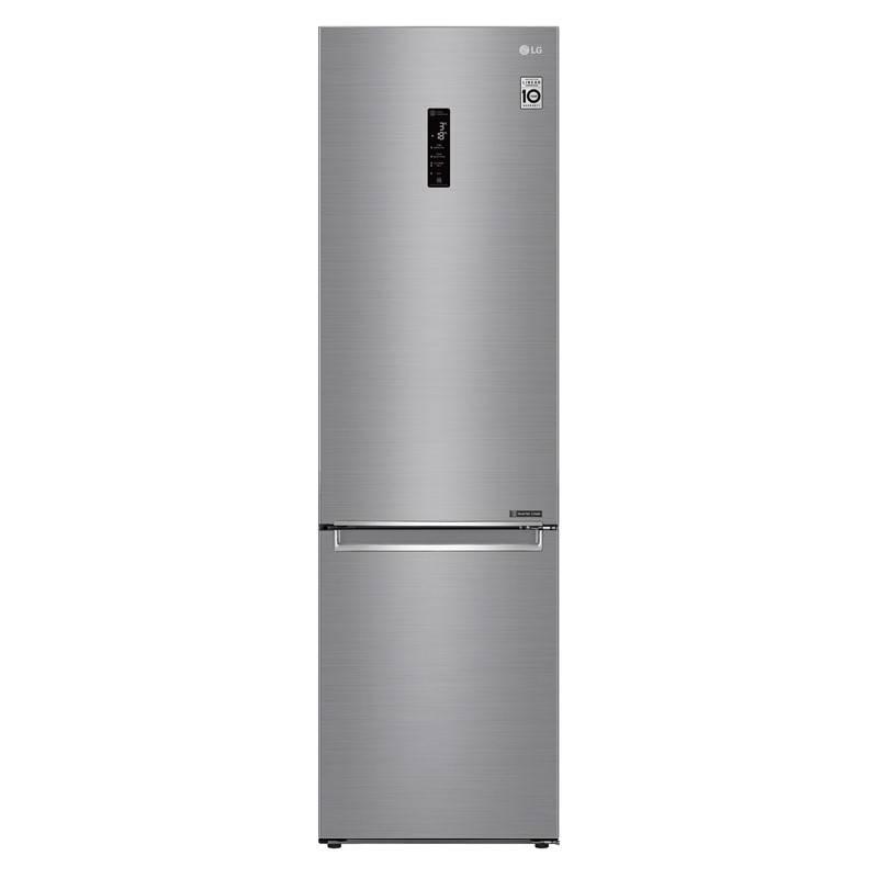 Chladnička s mrazničkou LG GBB72PZDZN + LG 10 let záruka na Lineární kompresor