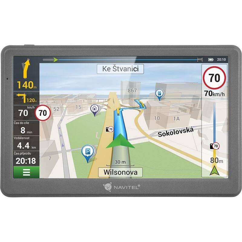 Navigačný systém GPS Navitel E700 TMC čierna