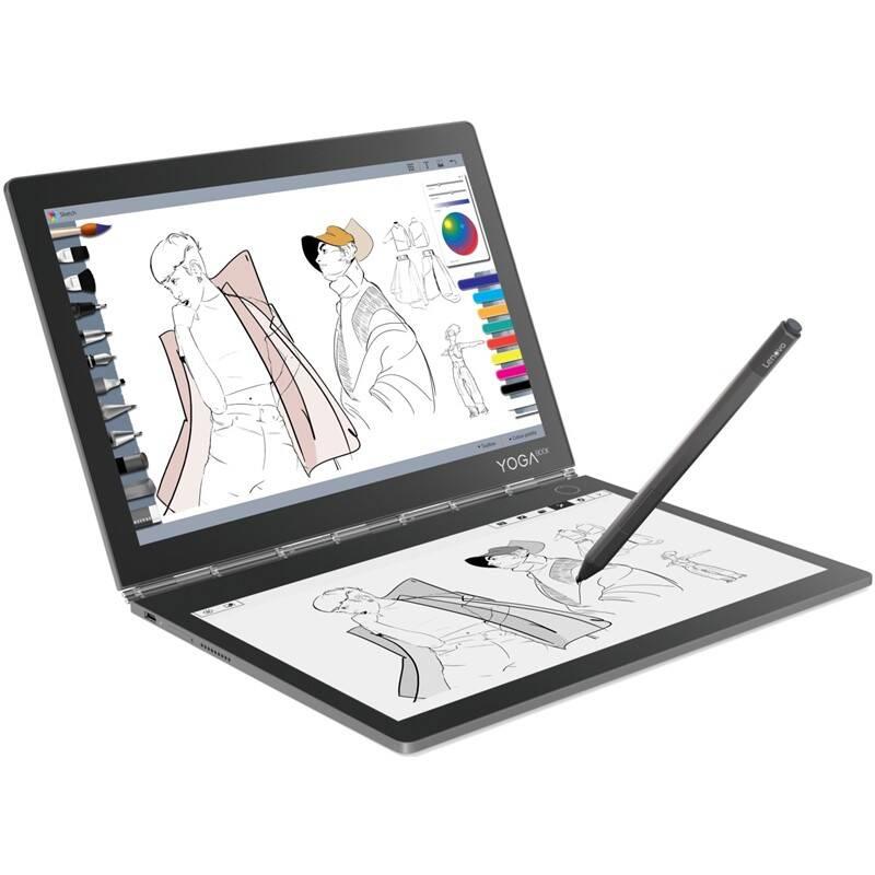 Tablet Lenovo Yoga Book C930 (ZA3T0227CZ) sivý