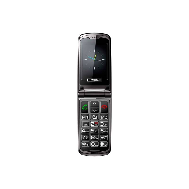 Mobilný telefón MaxCom Comfort MM822 Single Sim (MM822BKSS) čierny