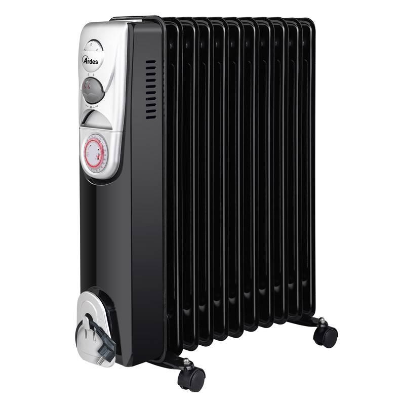 Olejový radiátor Ardes 4R11BT čierny