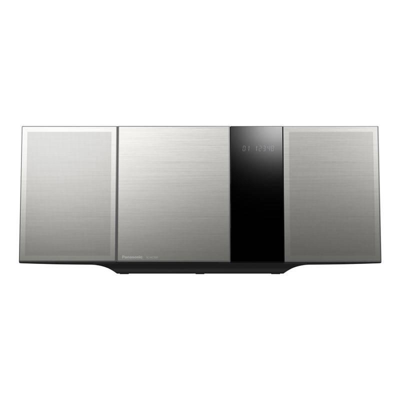 Mikro HiFi systém Panasonic SC-HC395EG-S strieborný