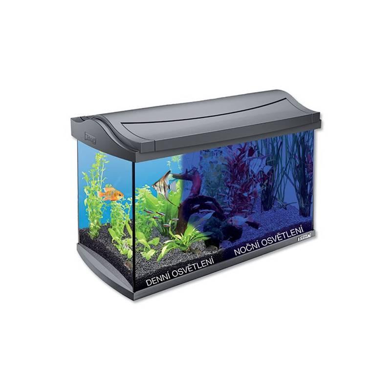 akwarium tetra aquaart led zestaw 60l szk o plastik. Black Bedroom Furniture Sets. Home Design Ideas