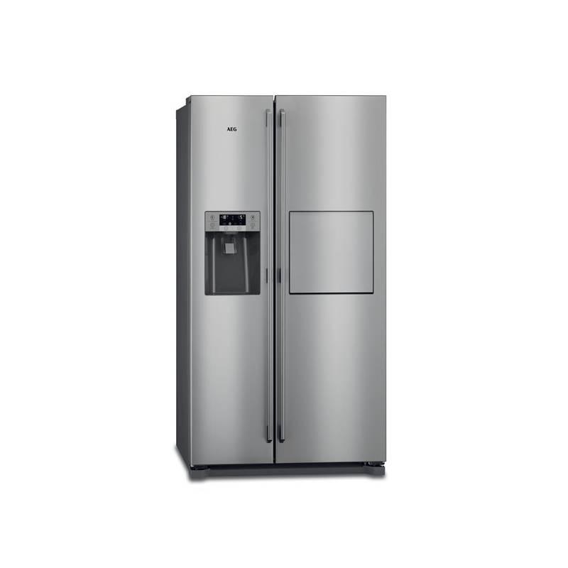 Kombinácia chladničky s mrazničkou AEG RMB86111NX nerez + Doprava zadarmo