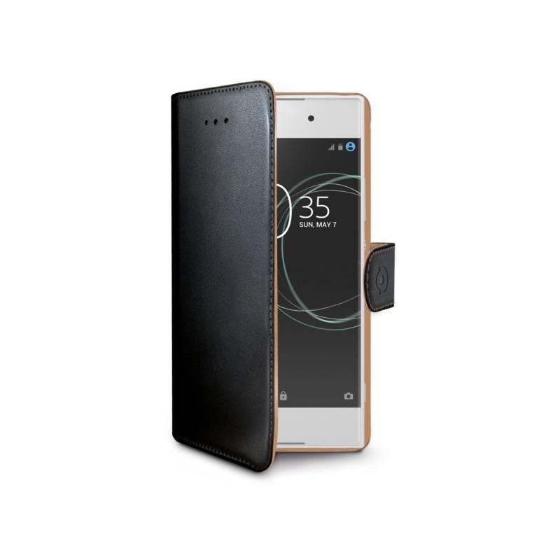 Puzdro na mobil flipové Celly Wally pro Sony Xperia XA1 (WALLY658) čierne