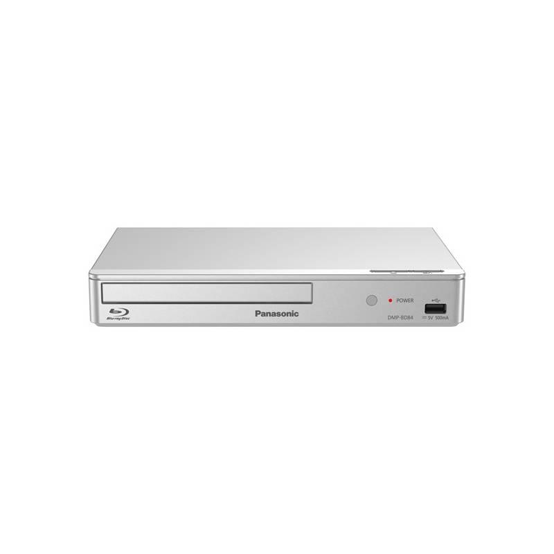 Blu-ray prehrávač Panasonic DMP-BD84EG-S strieborný