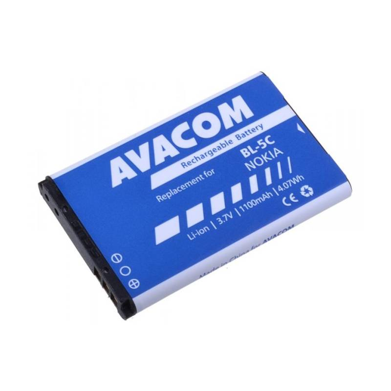 Baterie Avacom pro Nokia 6230, N70, Li-Ion 1100mAh (náhrada BL-5C)