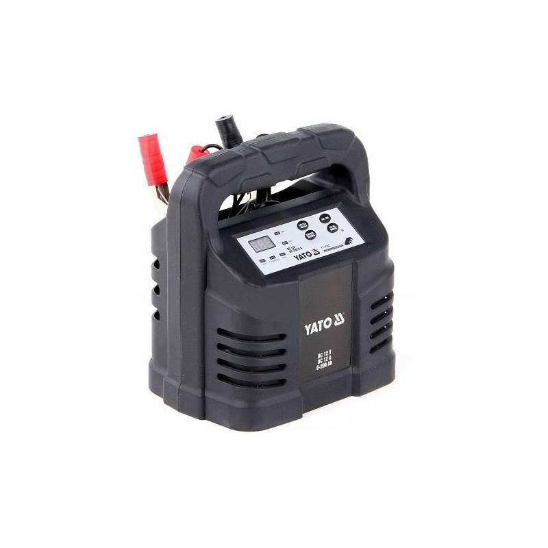 Nabíjačka autobatérií YATO 12A 12V procesor