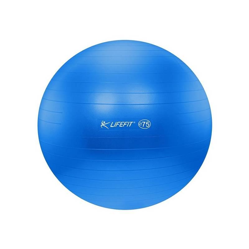 Gymnastická lopta LIFEFIT ANTI-BURST 75 cm modrý