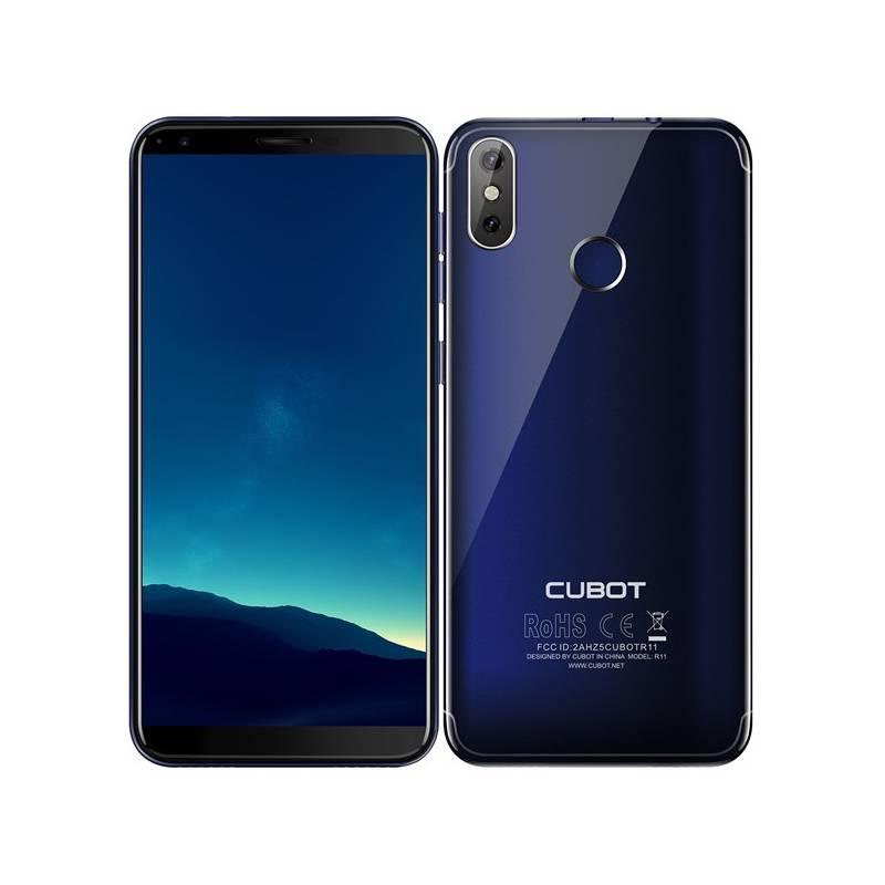 Mobilný telefón CUBOT R11 Dual SIM (PH3827) modrý + Doprava zadarmo