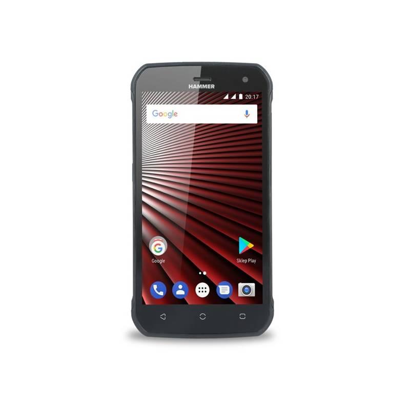Mobilný telefón myPhone Hammer Blade Dual SIM (TELMYAHBLADEBK) čierny