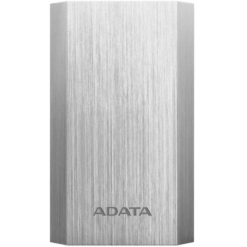Power Bank ADATA A10050 10050mAh (AA10050-5V-CSV) strieborná