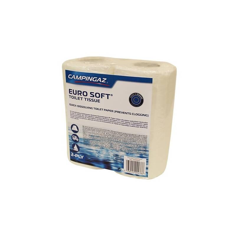 Toaletný papier Campingaz pro chemické toalety EURO SOFT (4 role)