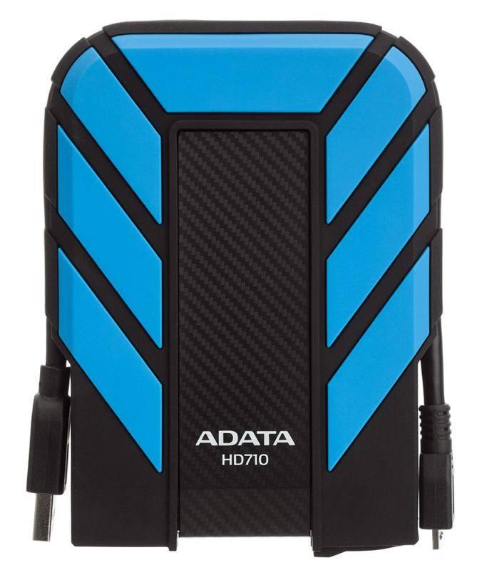 Externý pevný disk ADATA HD710 Pro 1TB (AHD710P-1TU31-CBL) modrý
