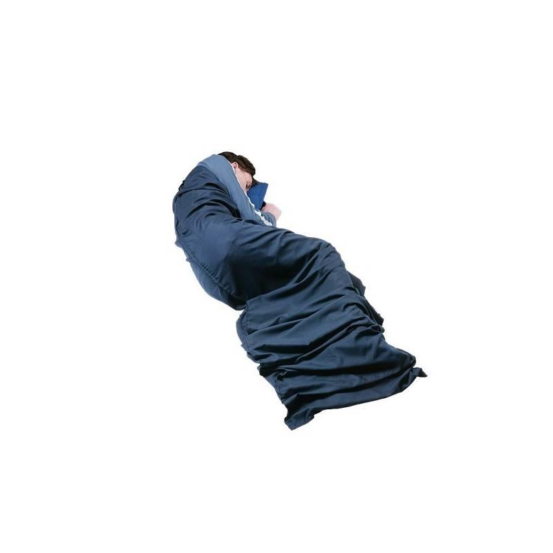 Vložka do spacáku Trekmates PES/BA Mummy 230x80 cm - modrá