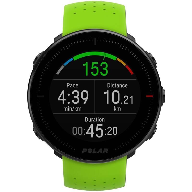 38bfa7362 GPS hodinky Polar Vantage M - zelené, černý řemínek zdarma (90075954)