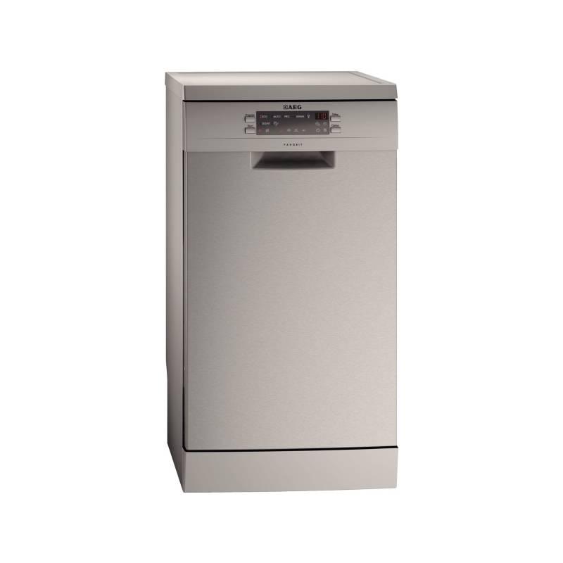 Umývačka riadu AEG F77420M0P nerez + Doprava zadarmo