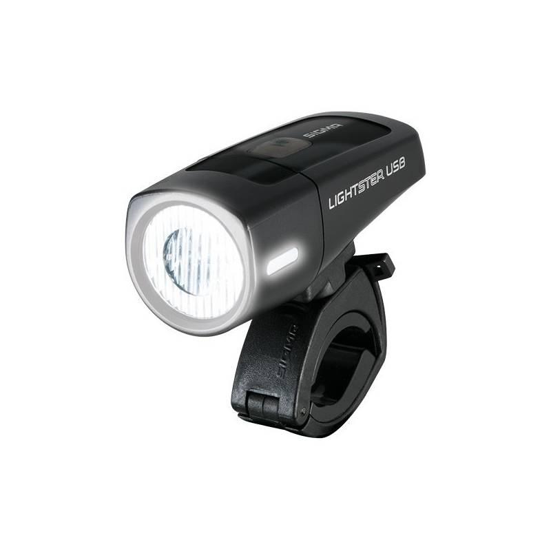 Svetlo na bicykel Sigma Lightster USB přední čierne
