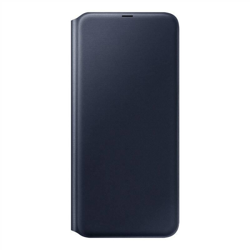 Pouzdro na mobil flipové Samsung Wallet Cover pro Galaxy A70 (EF-WA705PBEGWW) černé