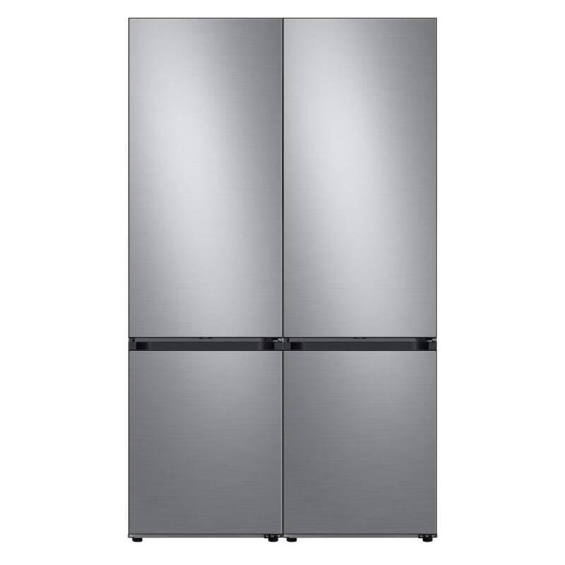 Americká chladnička Samsung Bespoke RB7300T RB38A7B6AS9/EF + spojovací sada RA-C00K3BAA strieborná + Doprava zadarmo