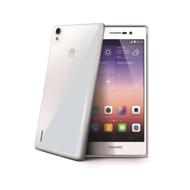 Kryt na mobil Celly Gelskin pro Huawei Ascend P7 (GELSKIN419 ) priehľadný