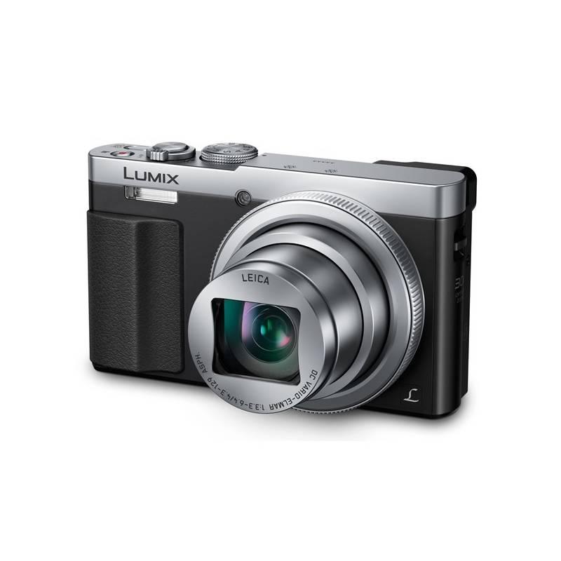 Digitálny fotoaparát Panasonic DMC-TZ70EP-S strieborný