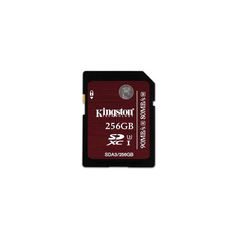 Pamäťová karta Kingston SDXC 256GB UHS-I U3 (90R/80W) (SDA3/256GB)
