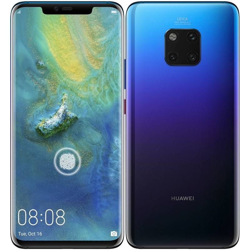 Mobilní telefon Huawei Mate 20 Pro (SP-MATE20PDSFOM) fialový