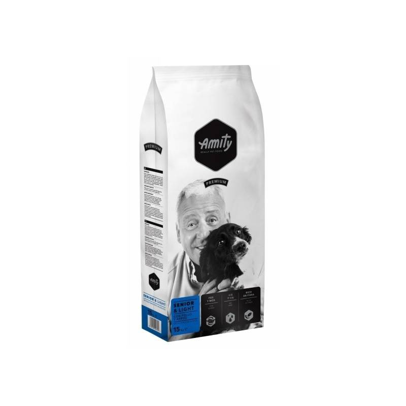 Granule Amity premium dog SENIOR Light 15kg
