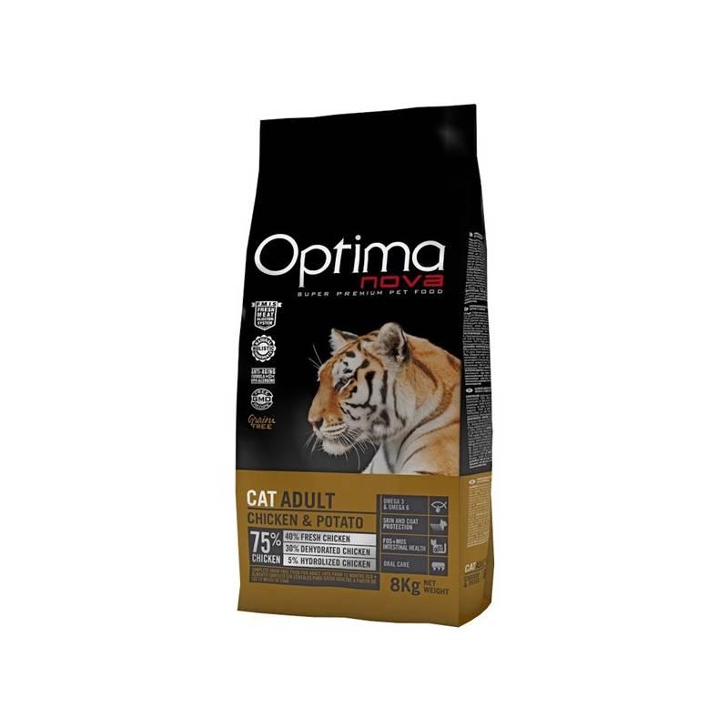Granule Optima nova Cat Adult Chicken GF 2 kg
