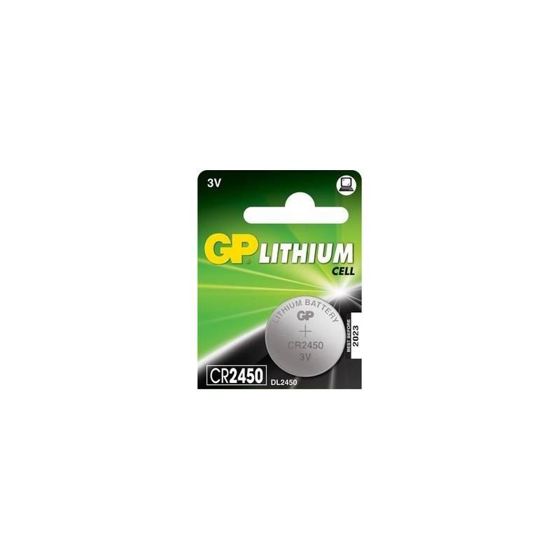 Baterie lithiová GP CR2450, blistr 1ks