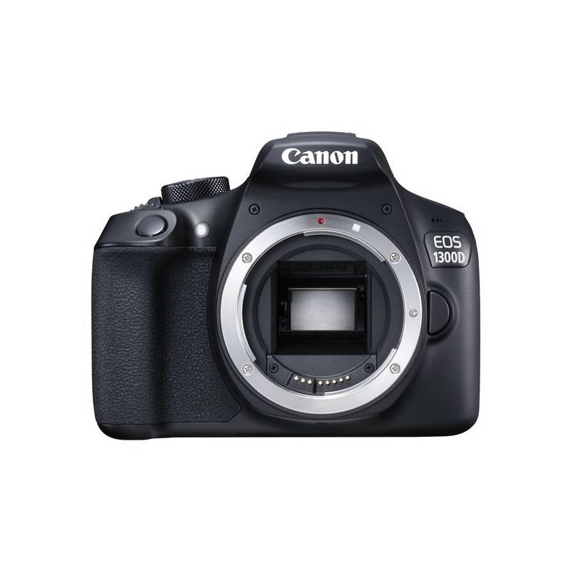 Digitálny fotoaparát Canon EOS 1300D tělo (1160C022) čierny + Cashback 30 € + Doprava zadarmo