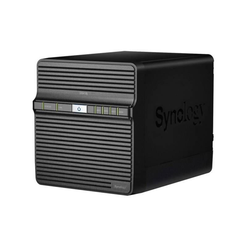 Sieťové úložište Synology DS418j (DS418j) čierne + Doprava zadarmo