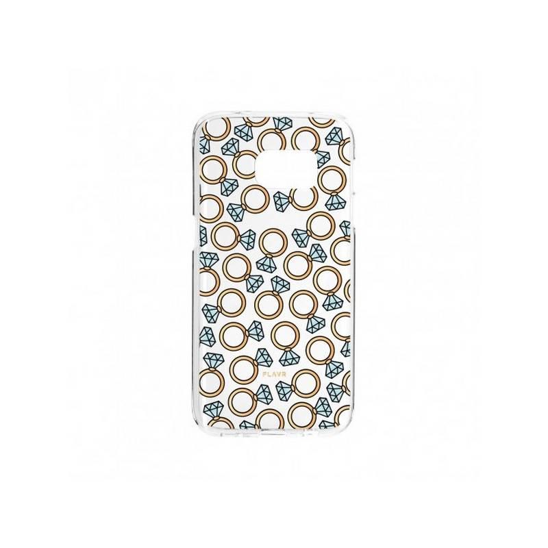 Kryt na mobil FLAVR iPlate na Galaxy S7 Edge, prsteny (26998)