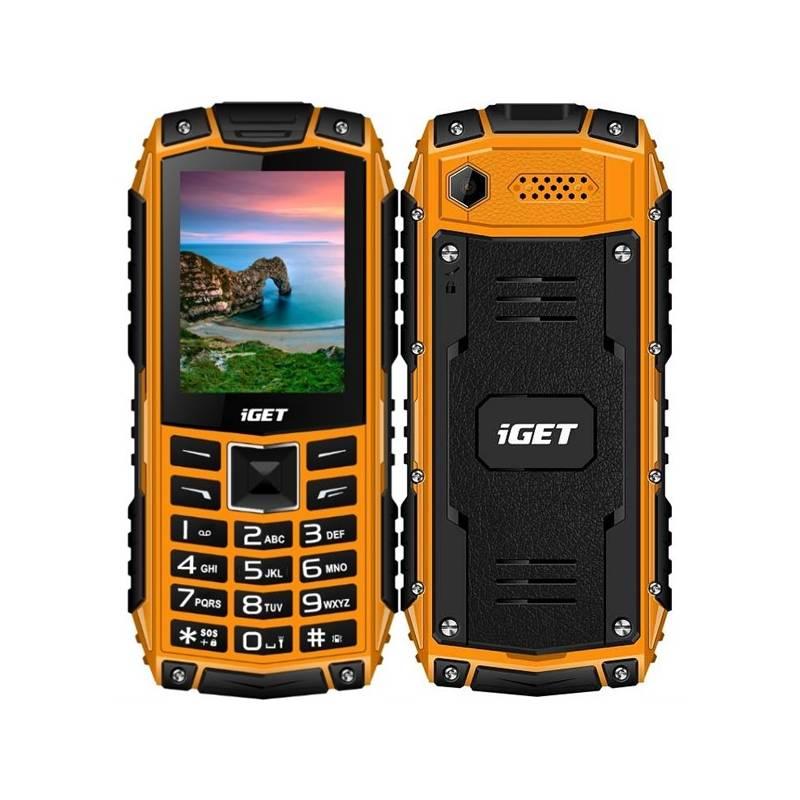 Mobilný telefón iGET Defender 10 Dual SIM (84000427) oranžový