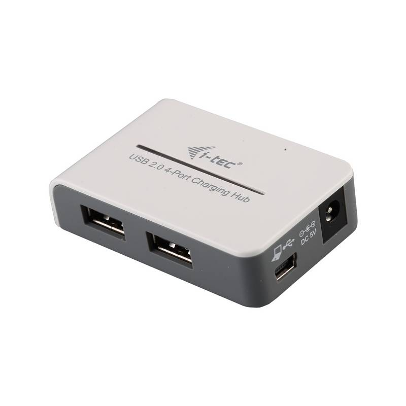 USB Hub i-tec 4-port, s funkcí rychlonabíjení (U2HUB412)