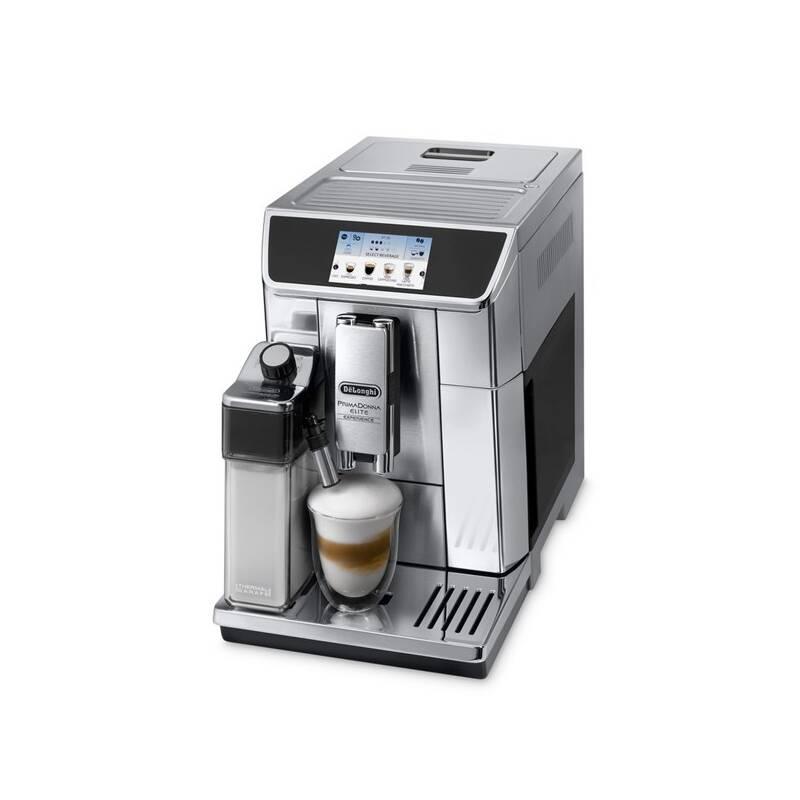 Espresso DeLonghi PrimaDonna Elite ECAM 650.85.MS strieborné + Doprava zadarmo