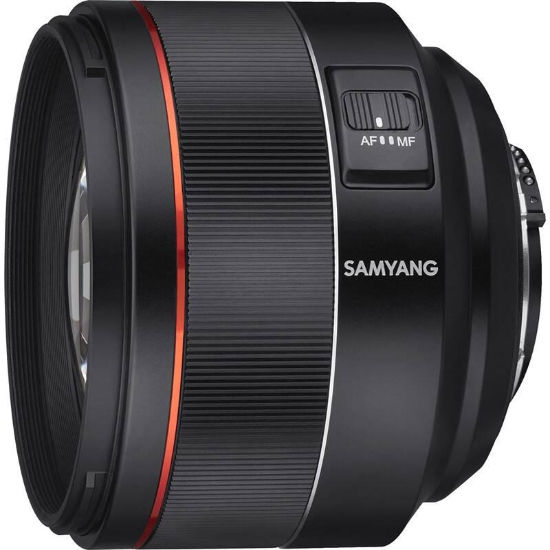 Objektív Samyang AF 85 mm f/1.4 Nikon F čierny