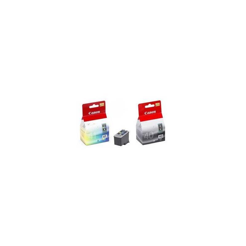 Cartridge, toner Canon PG40/CL-41 , 16,9ml - originální (0615B036) čierna/červená/modrá/žltá